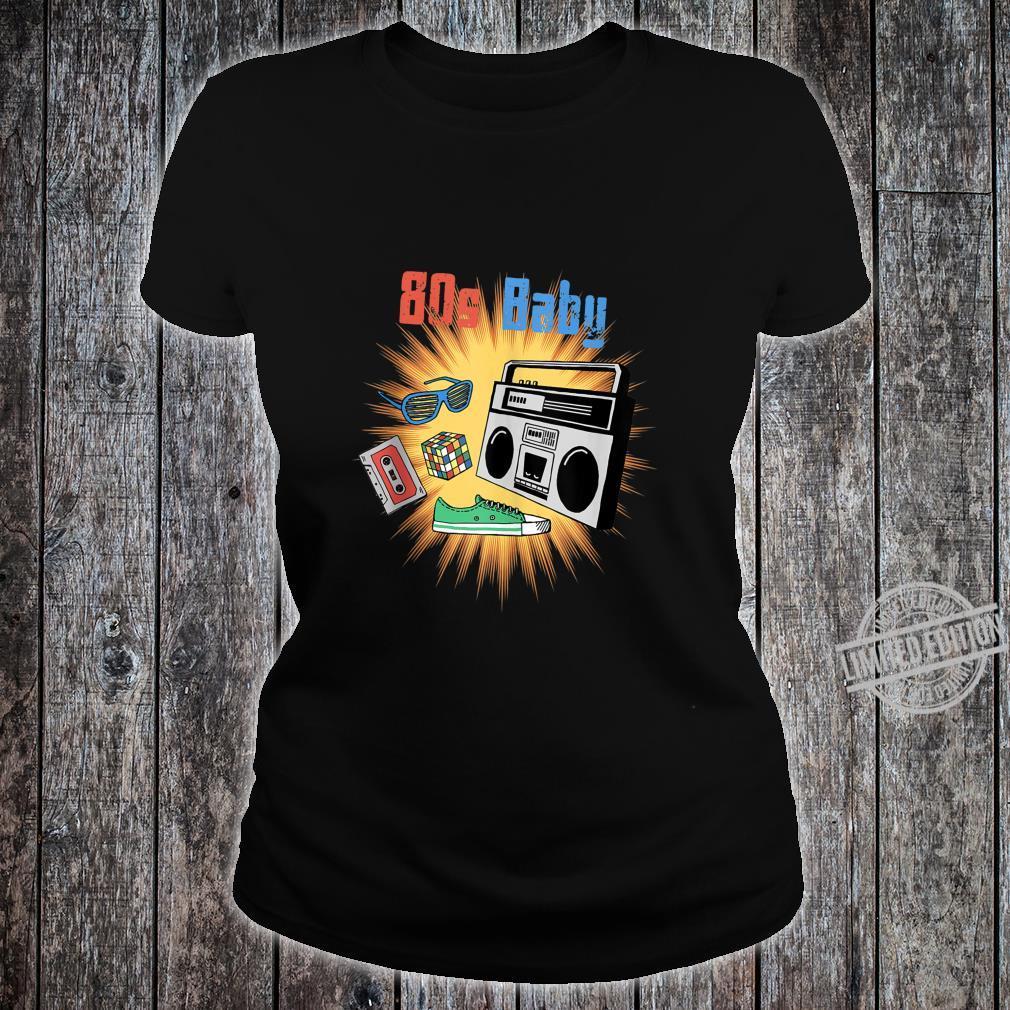 80s Baby Shirt 80s Party Shirt ladies tee