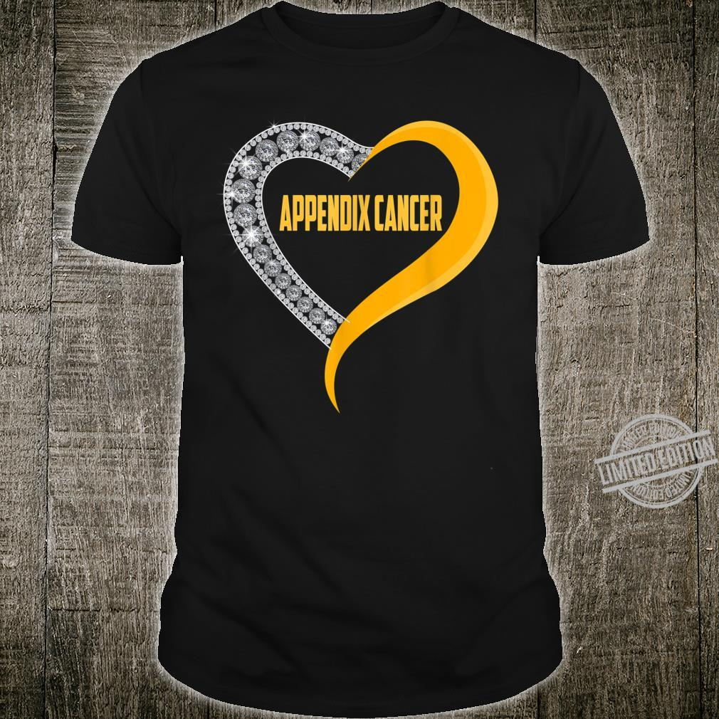 Appendix cancer heart survivor Shirt
