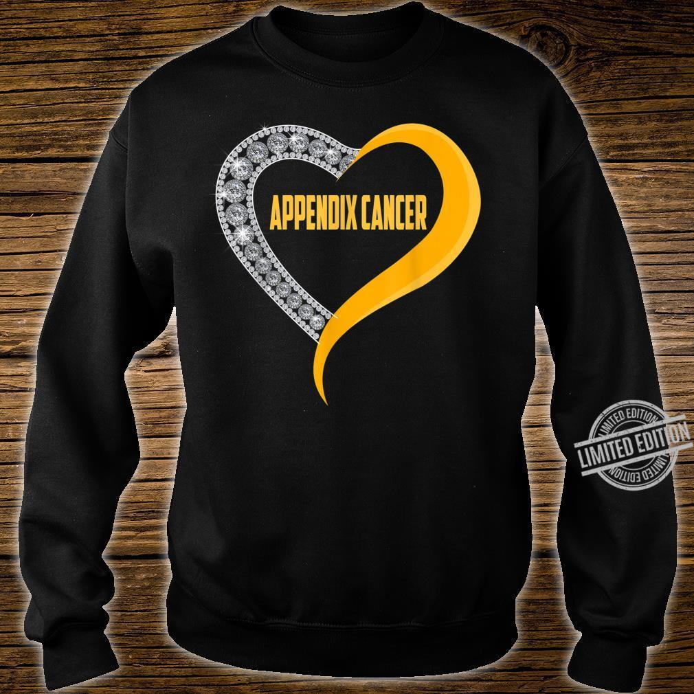 Appendix cancer heart survivor Shirt sweater