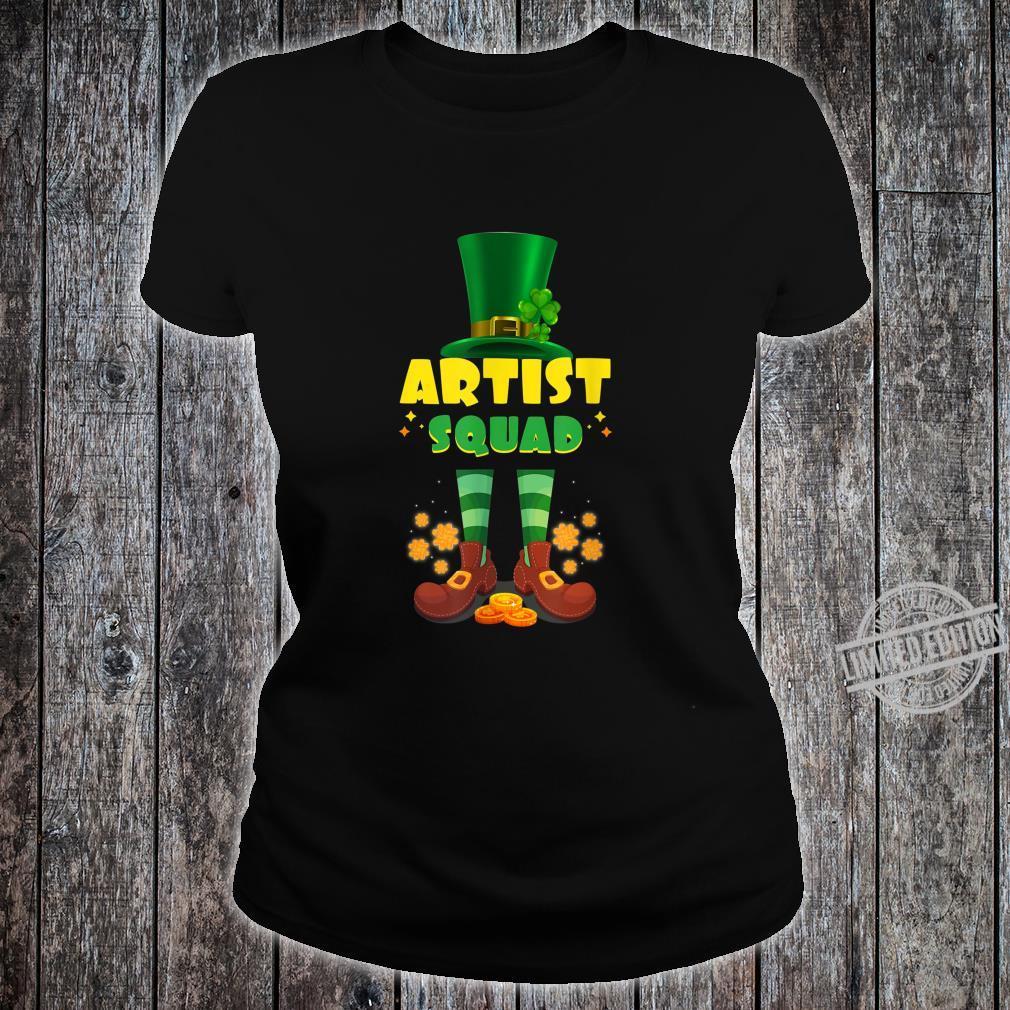 Artist Squad Irish St Patrick Day Shirt ladies tee
