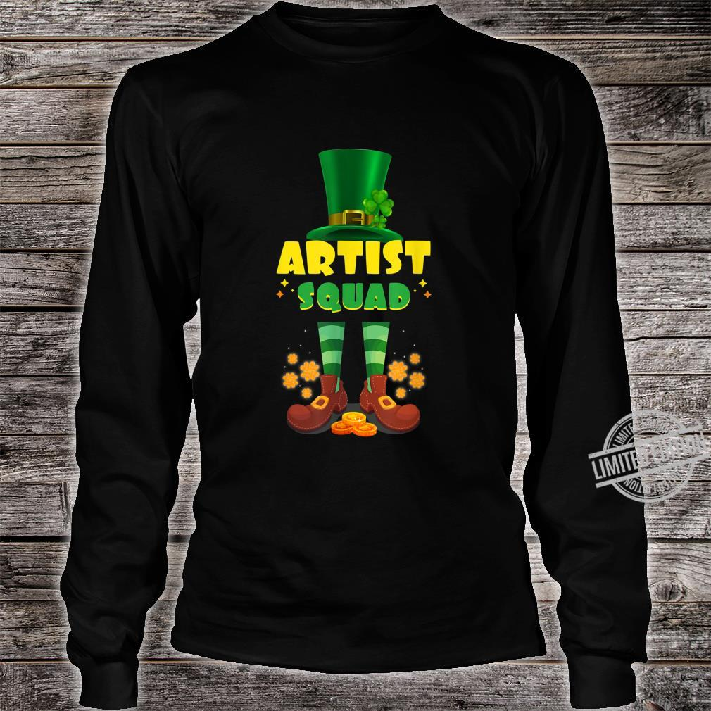 Artist Squad Irish St Patrick Day Shirt long sleeved