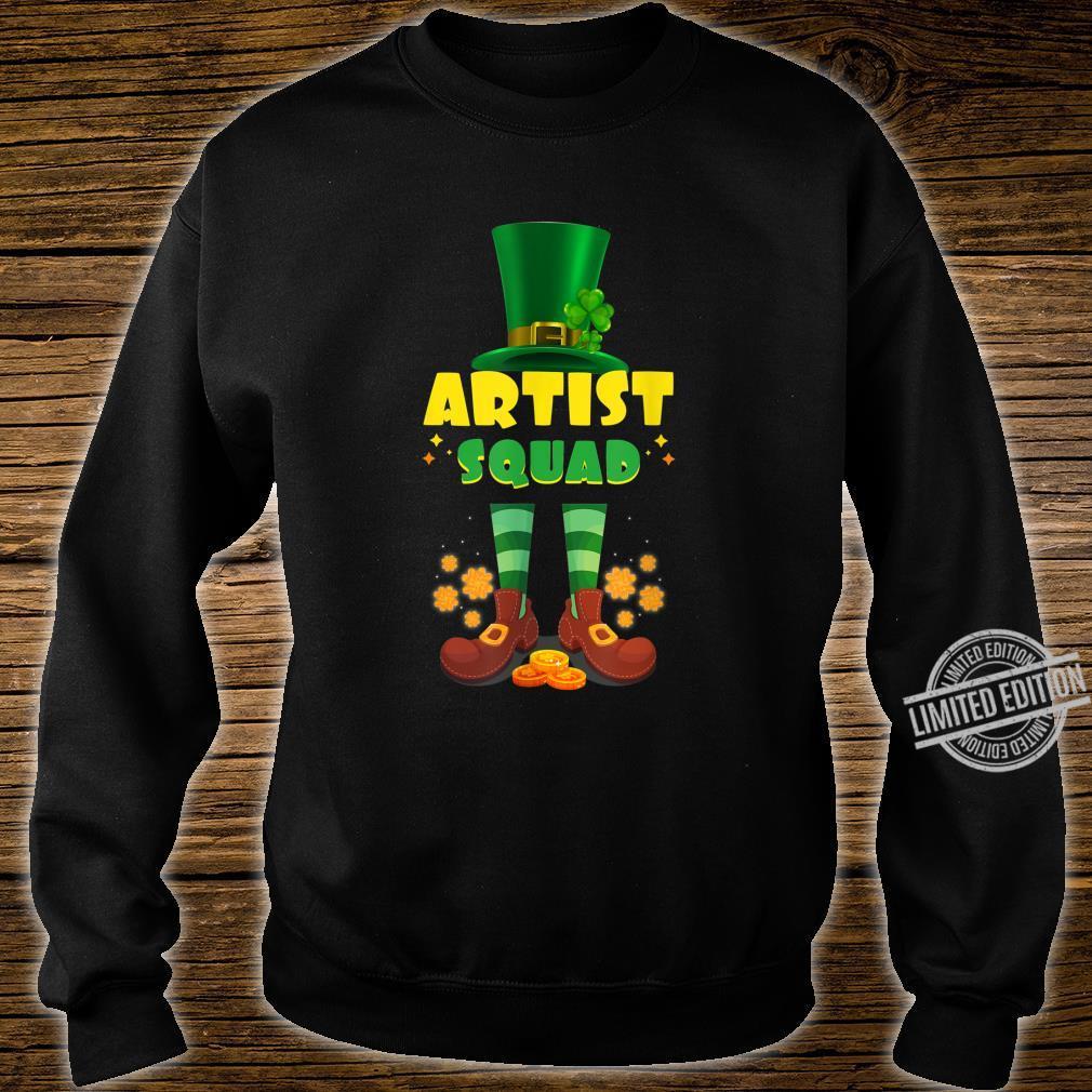 Artist Squad Irish St Patrick Day Shirt sweater