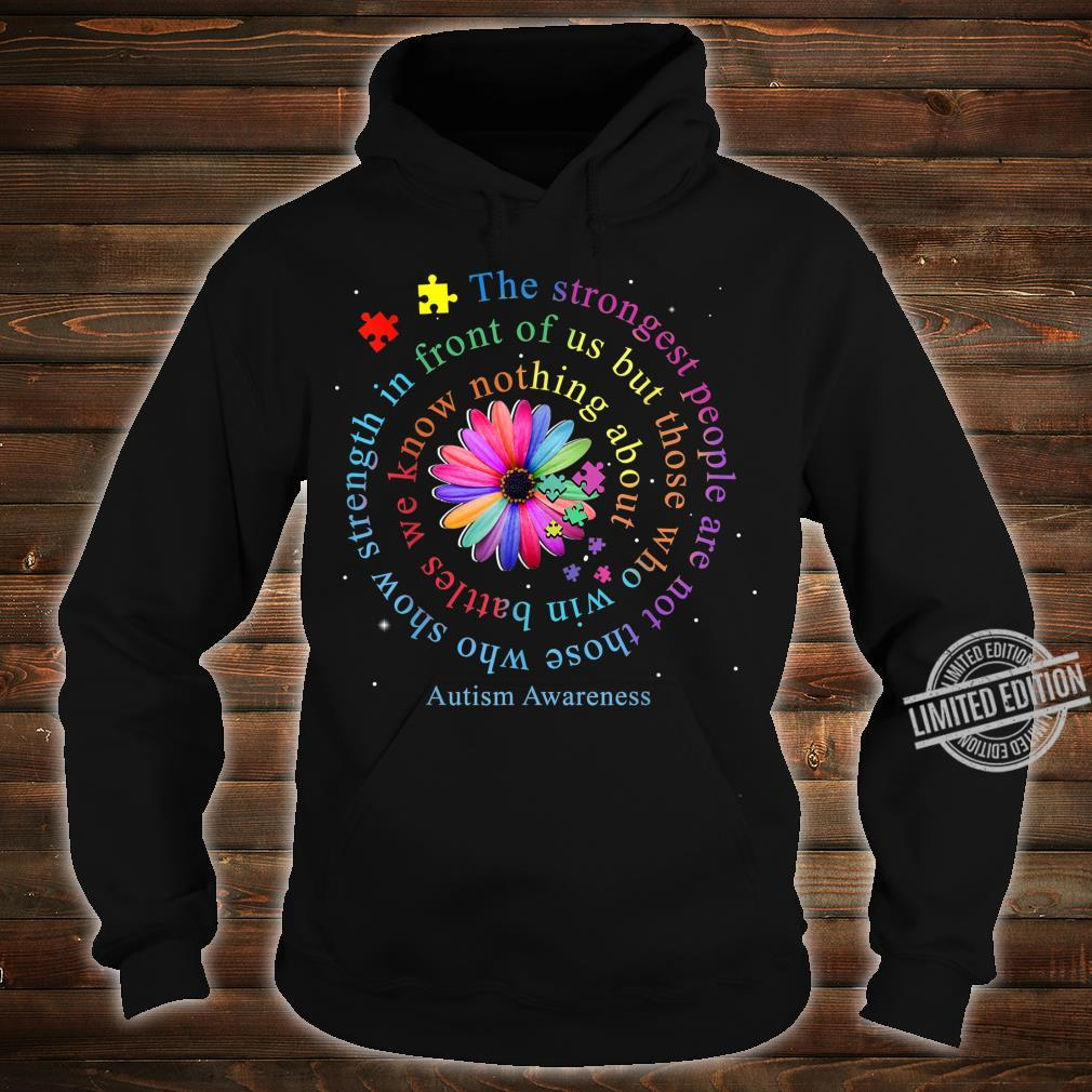 Autism Awareness Flower Puzzle Shirt hoodie