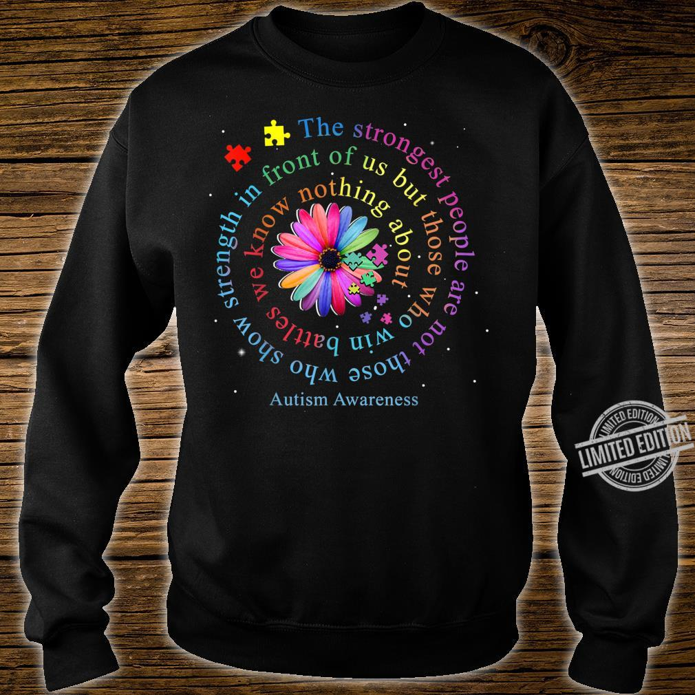Autism Awareness Flower Puzzle Shirt sweater