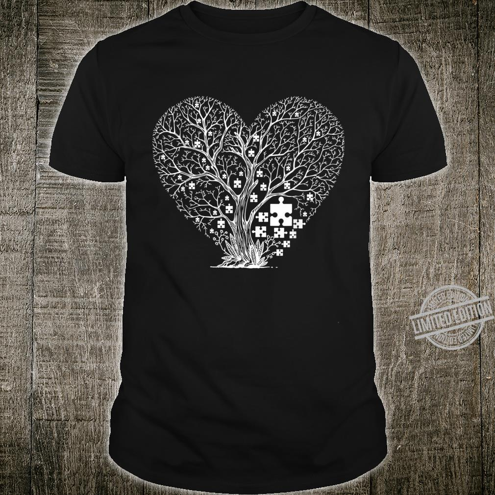 Autism Awareness Love Heart Puzzle Piece Valentines Day Shirt