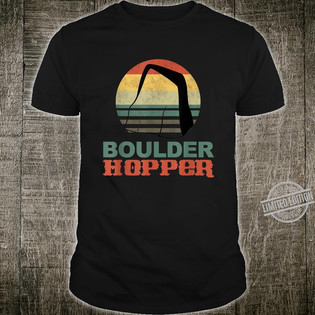 Awesome Vintage Inspired Boulder Hopper Rock Jumping Shirt