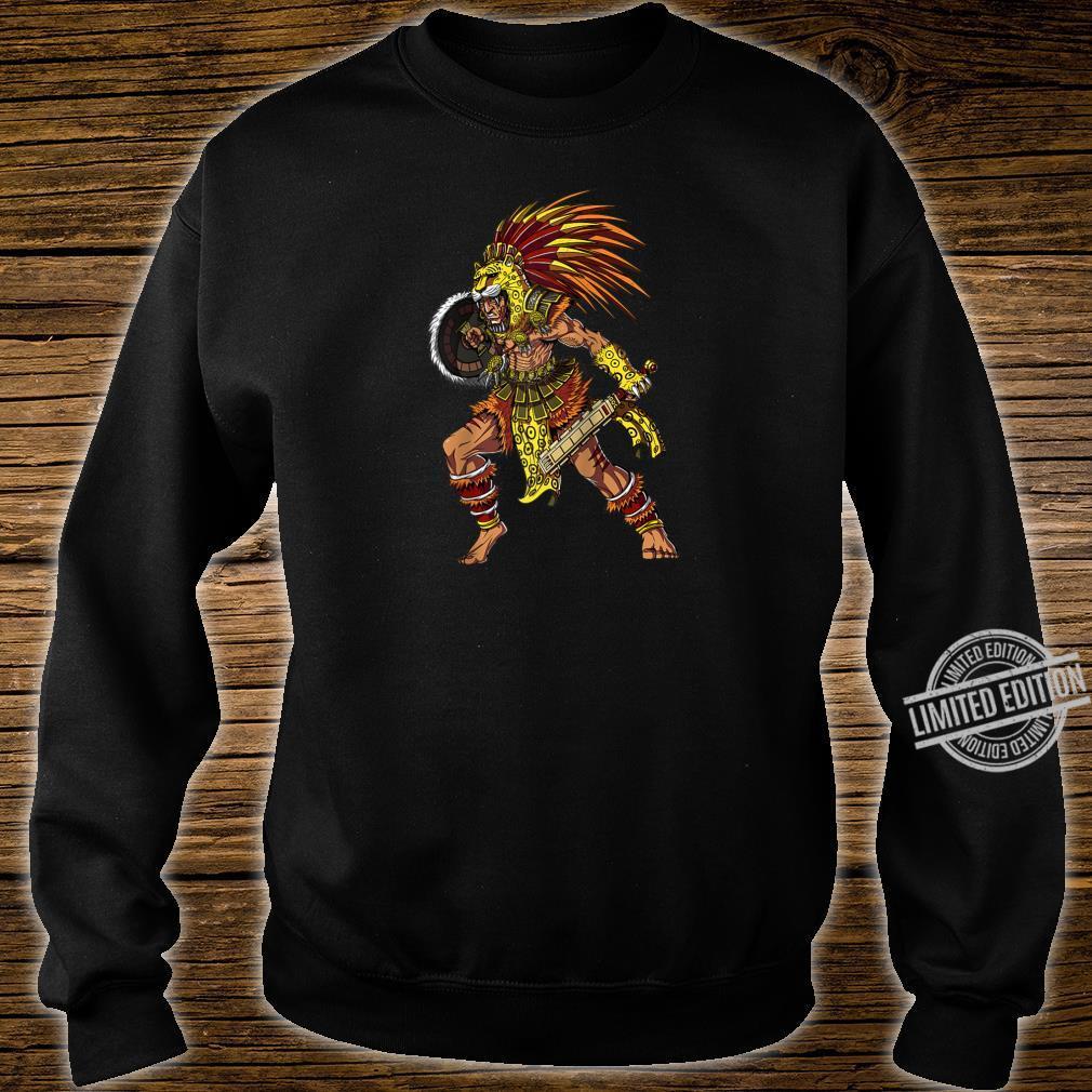 Aztec Jaguar Warrior Native Mexican Mythology Shirt sweater