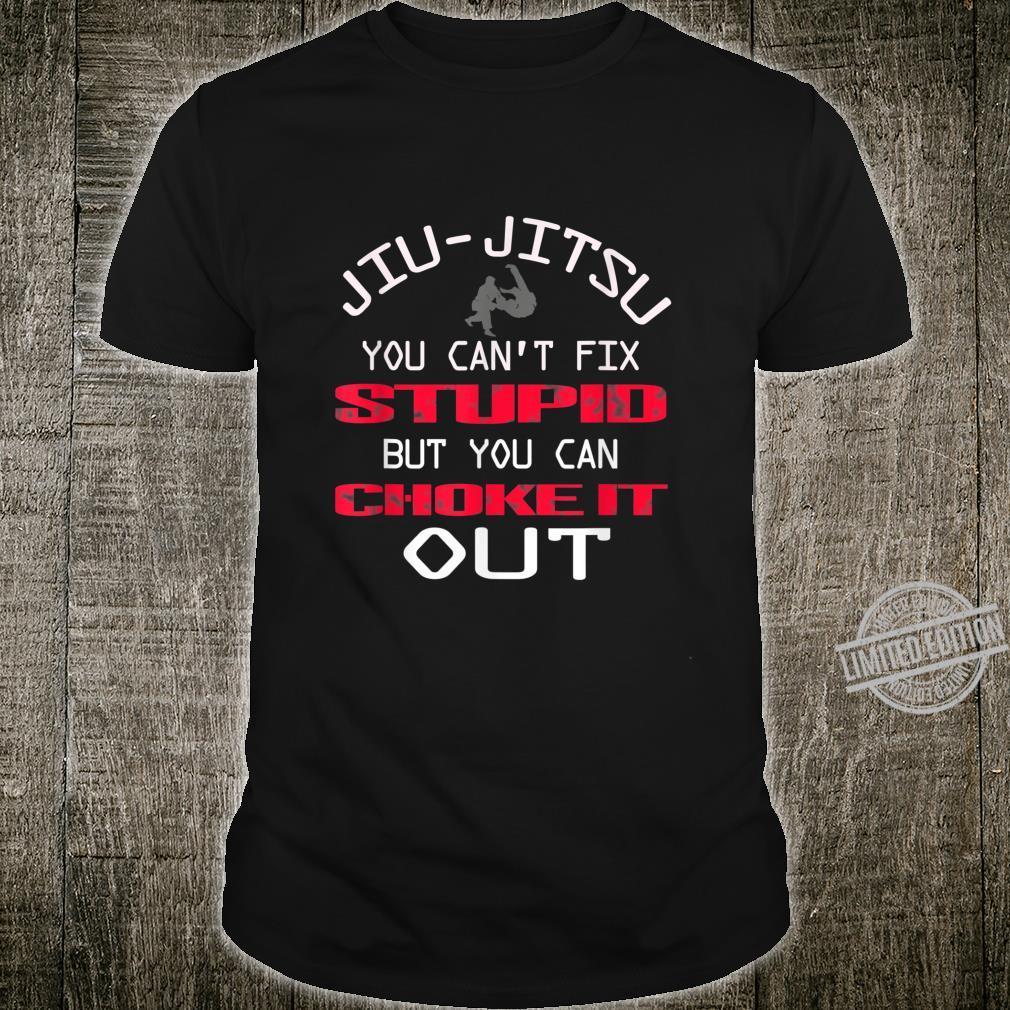 BJJ Jiu Jitsu You Can Choke It Out Martial Art Shirt
