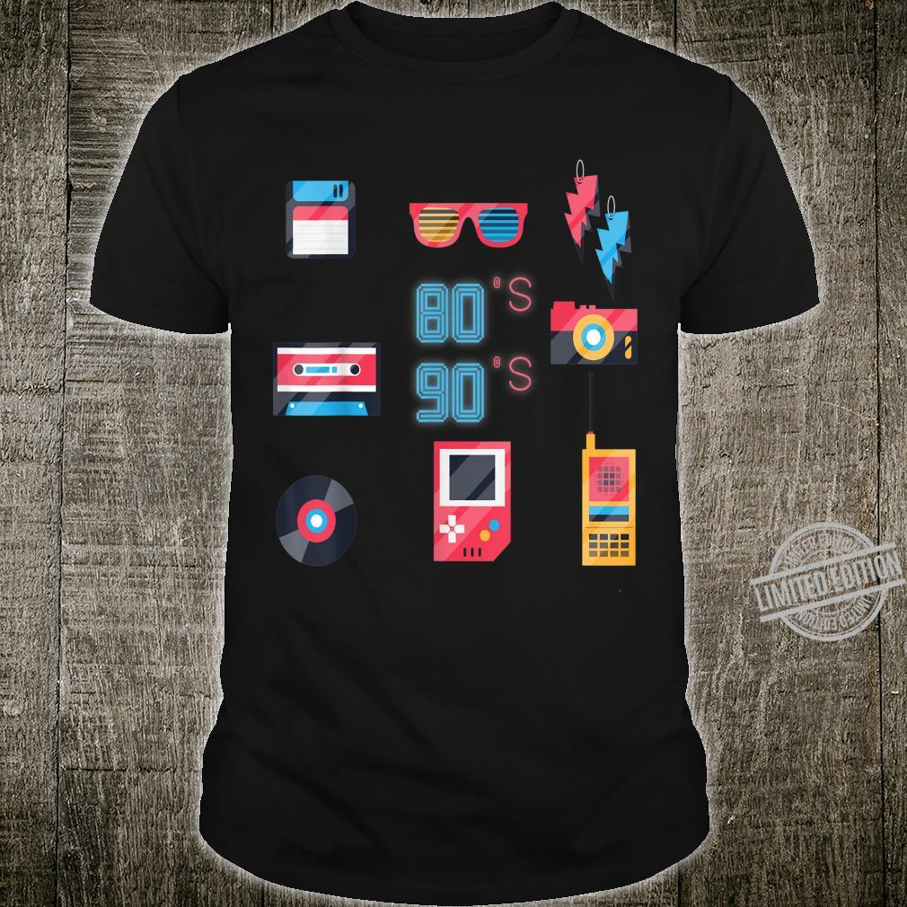 Back to the 80's 90's Technology Old Gadgets Shirt