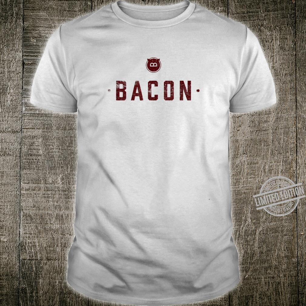 Bacon Meats Alles zu sagen Lustiges Schweinefleisch Shirt