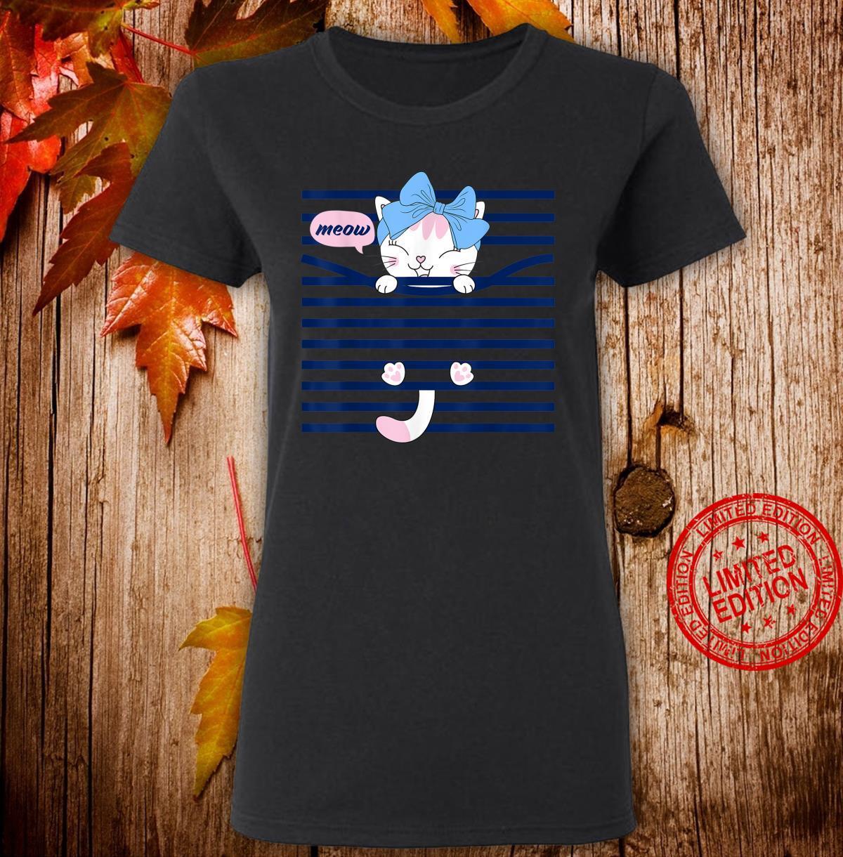 Bahaa's'ss Cats Short Sleeve Shirt ladies tee