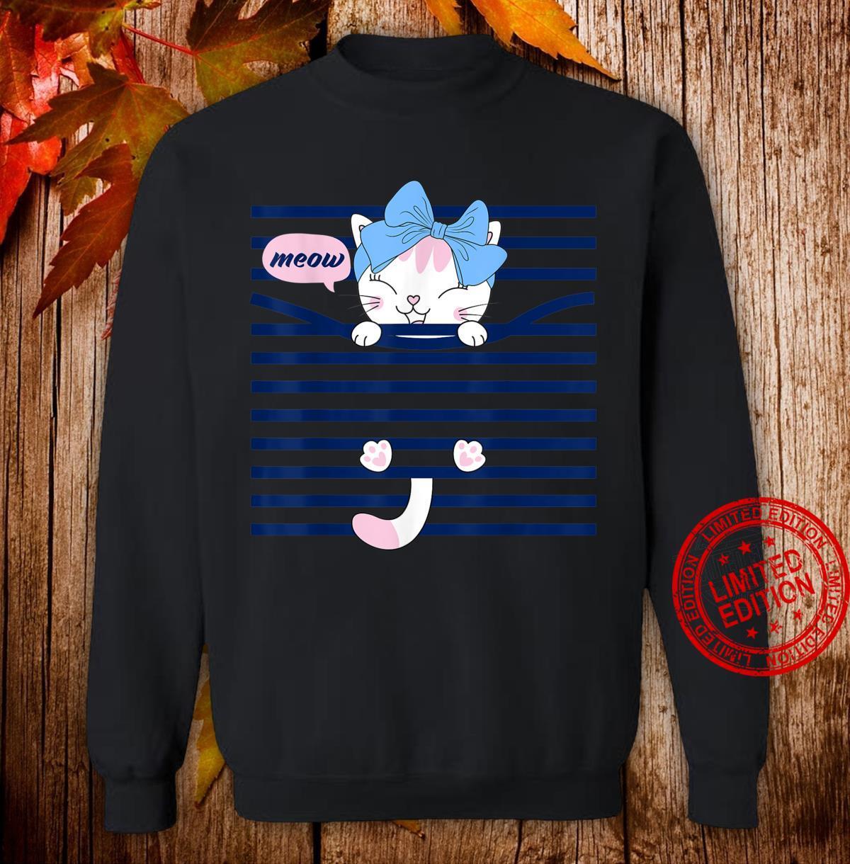 Bahaa's'ss Cats Short Sleeve Shirt sweater