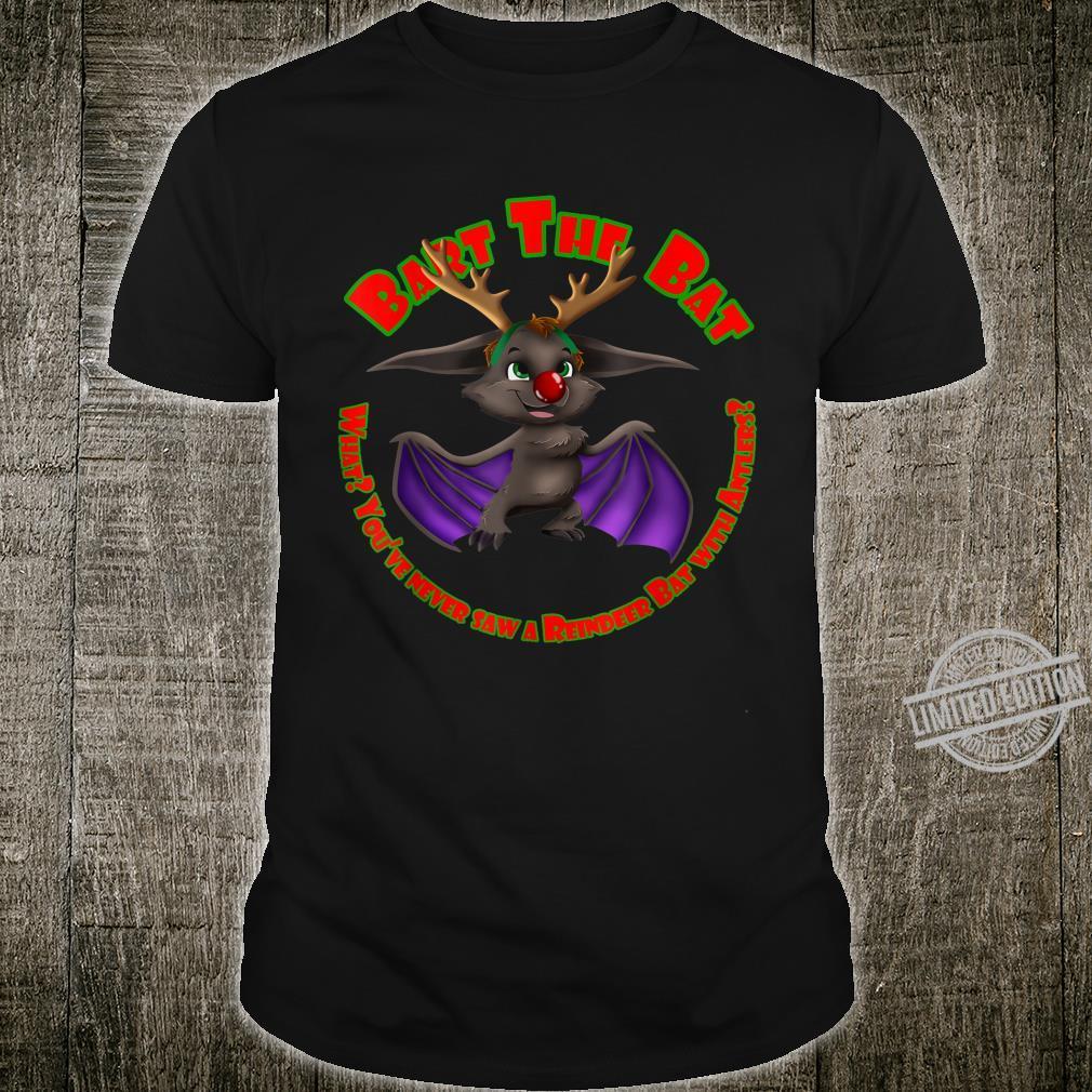 Bart the Reindeer Bat Shirt