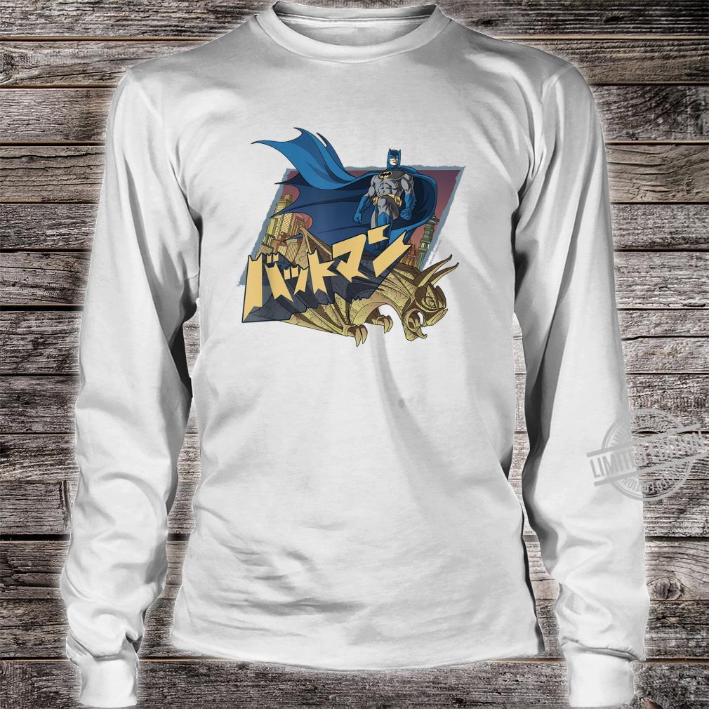 Batman Japanese Knight Shirt long sleeved
