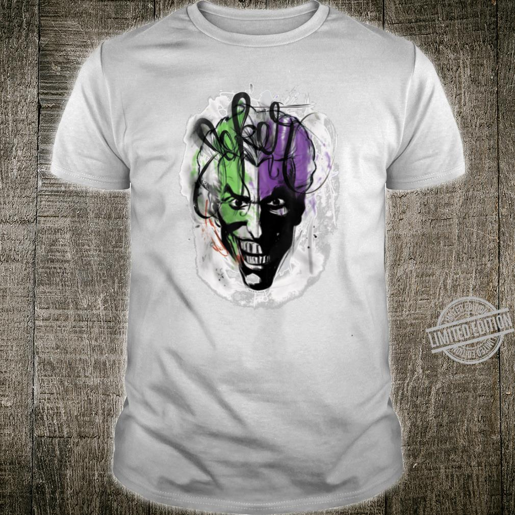 Batman Joker Airbrush Shirt