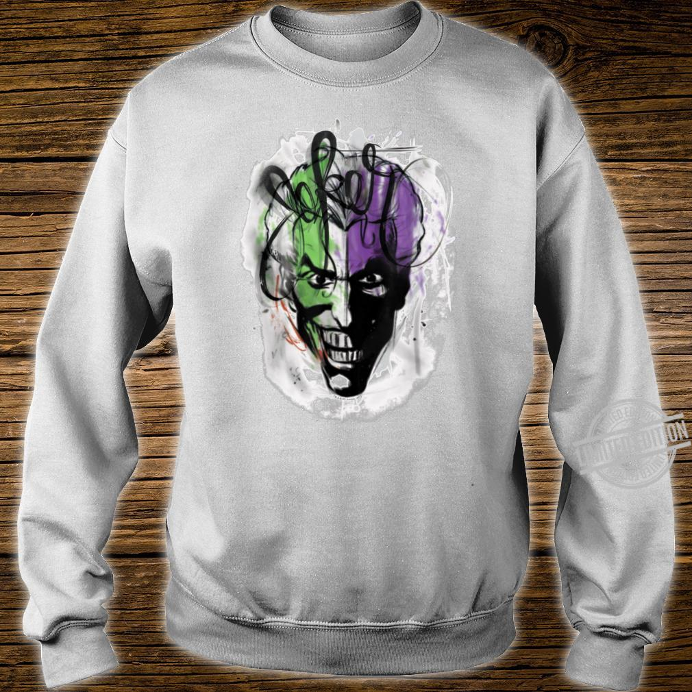 Batman Joker Airbrush Shirt sweater