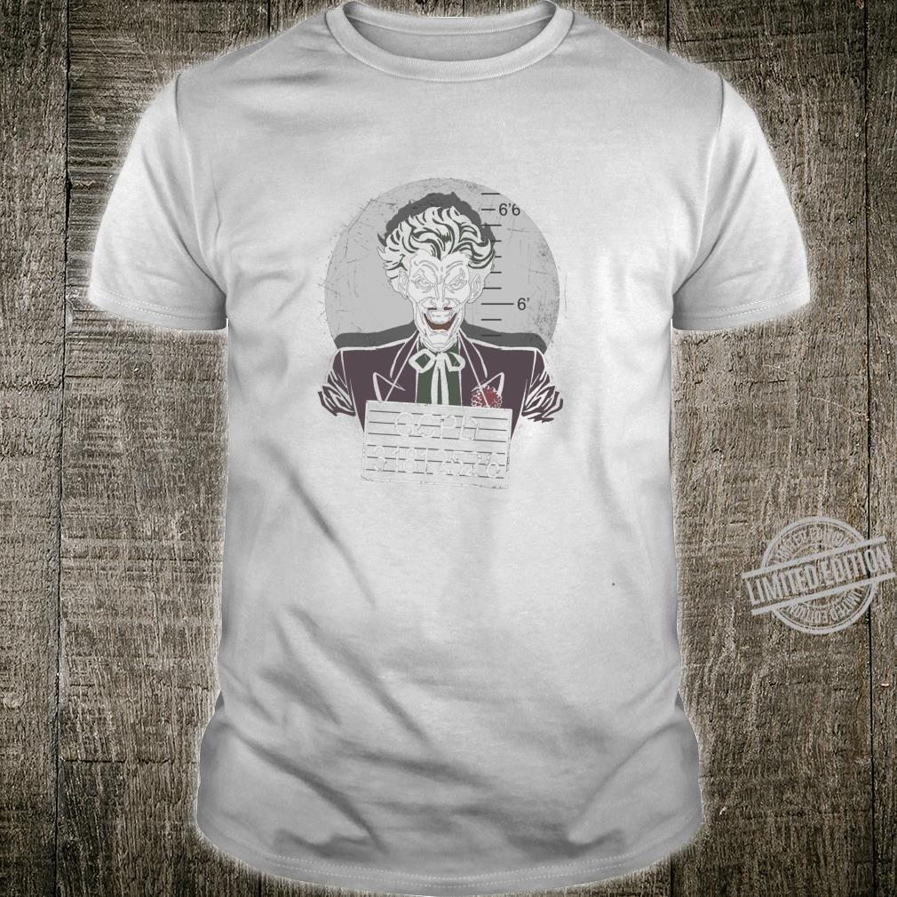 Batman Joker Busted Langarmshirt Shirt