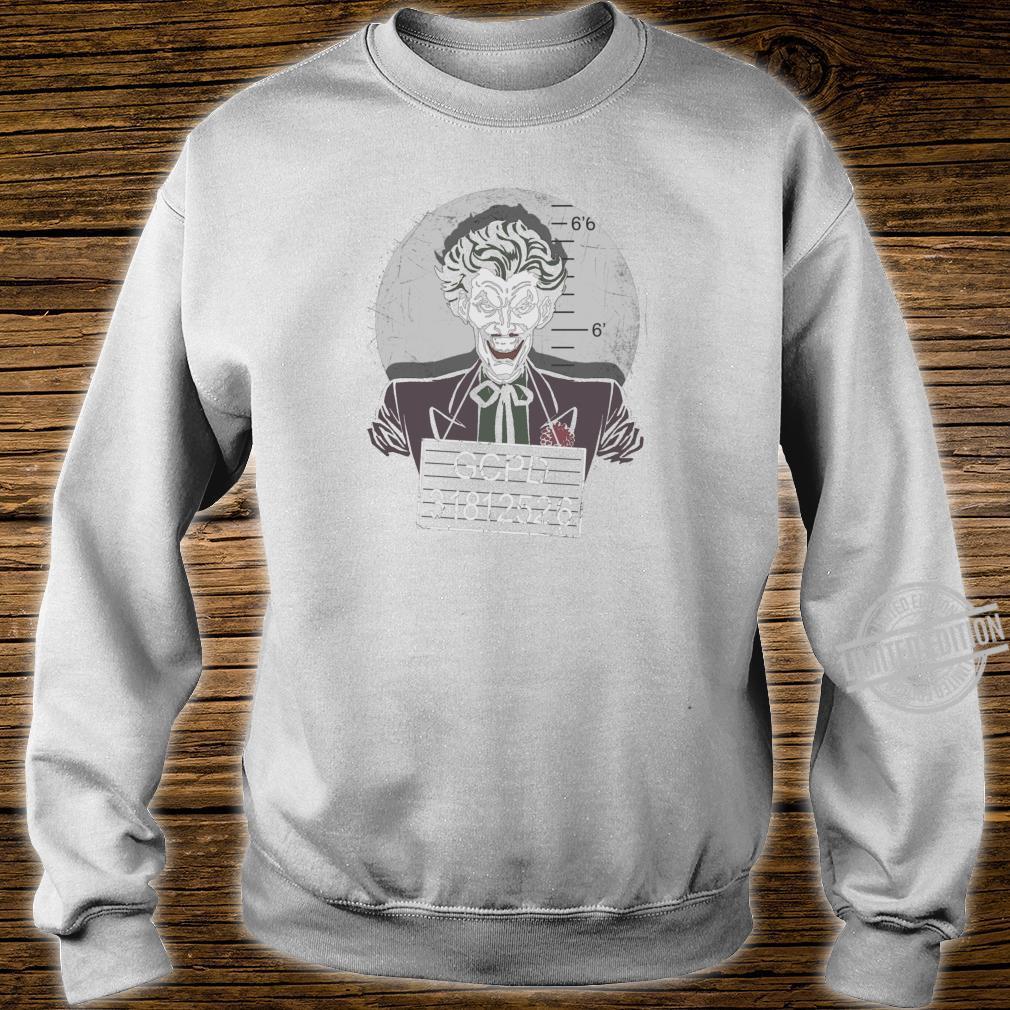 Batman Joker Busted Shirt sweater
