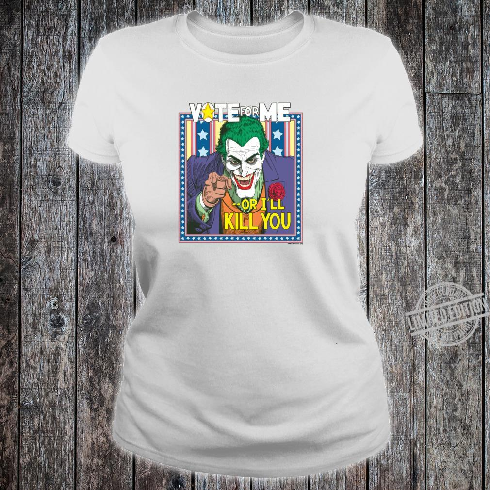 Batman Joker Dark Detective #1 Shirt ladies tee
