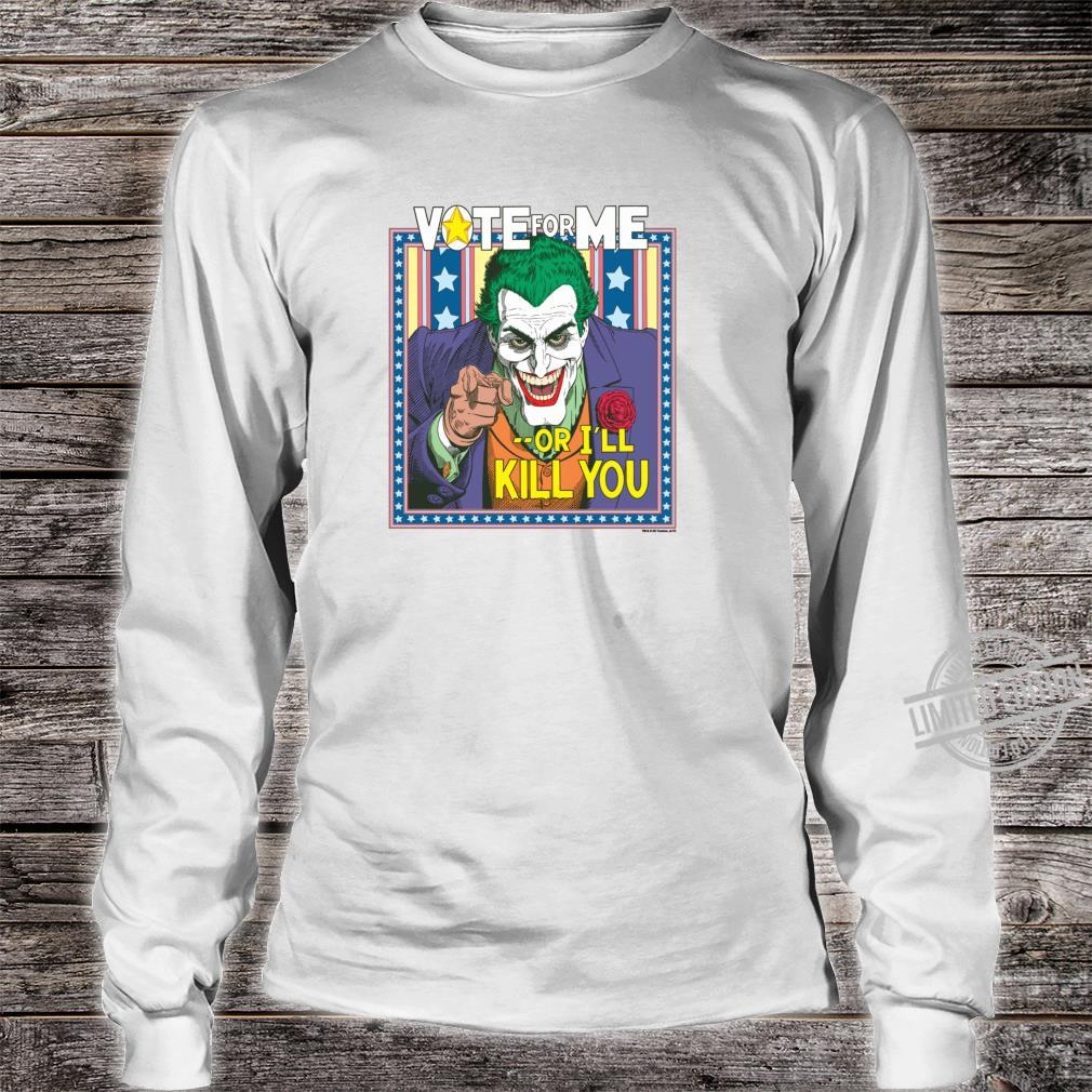 Batman Joker Dark Detective #1 Shirt long sleeved