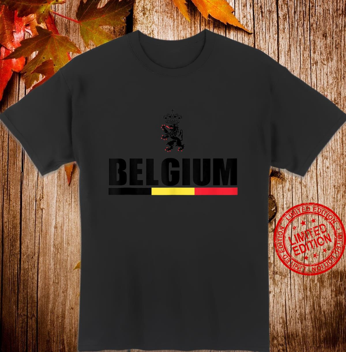 Belgium Football Jersey Shirt Belgian Lion Leo Belgicus Shirt