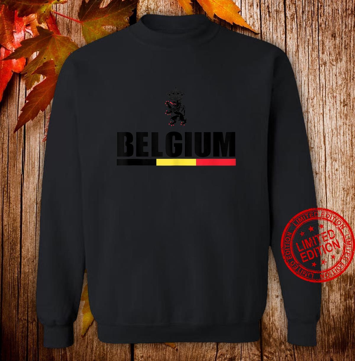 Belgium Football Jersey Shirt Belgian Lion Leo Belgicus Shirt sweater