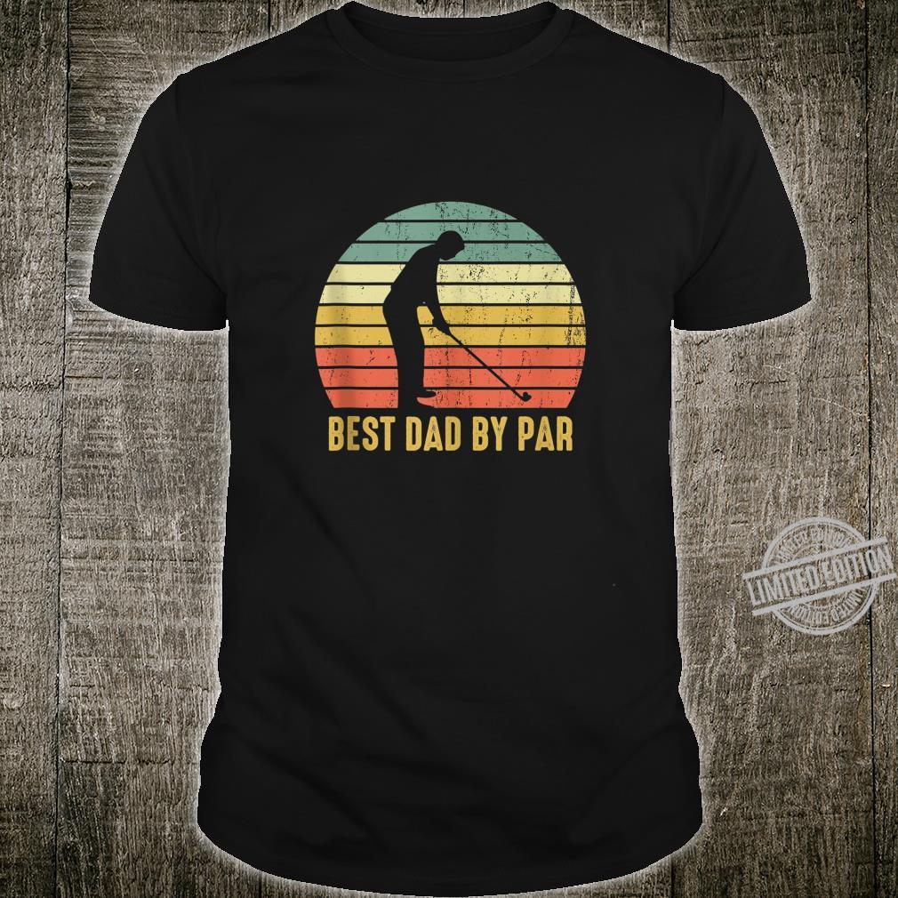 Best Dad By Par Disc Golf Father's Day Shirt