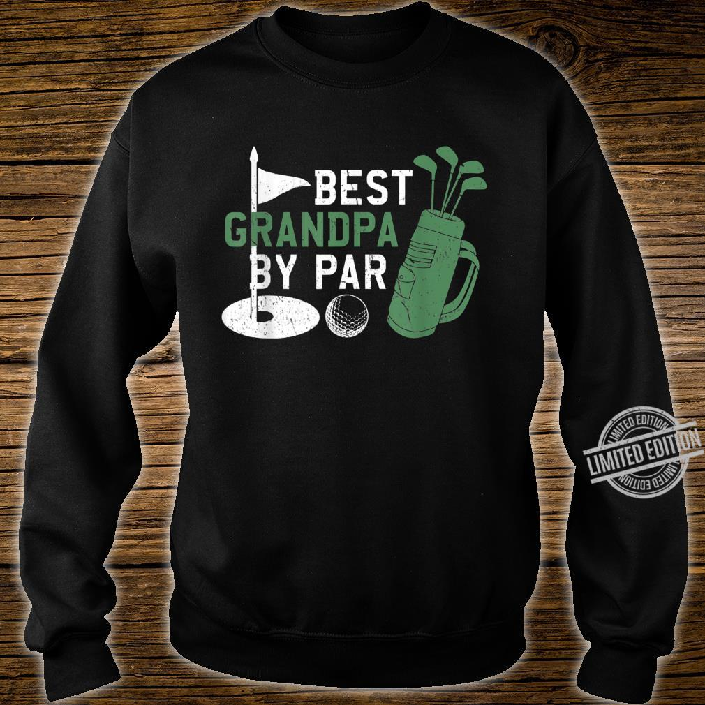 Best Grandpa By Par Golf Fathers Day DAD Shirt sweater