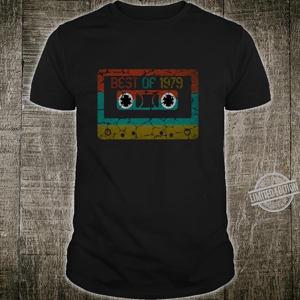 Best of 1979 Vintage Birthday Langarmshirt Shirt
