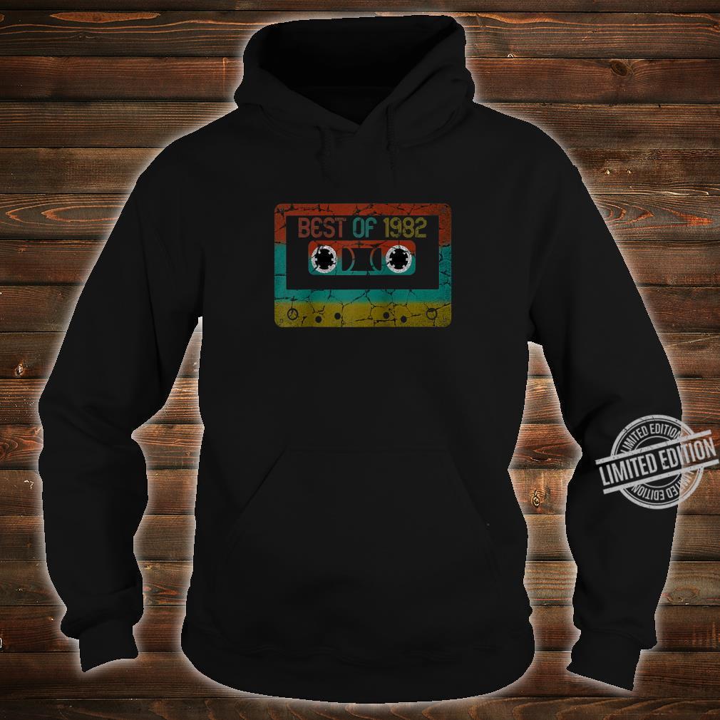Best of 1982 Vintage Birthday Shirt hoodie