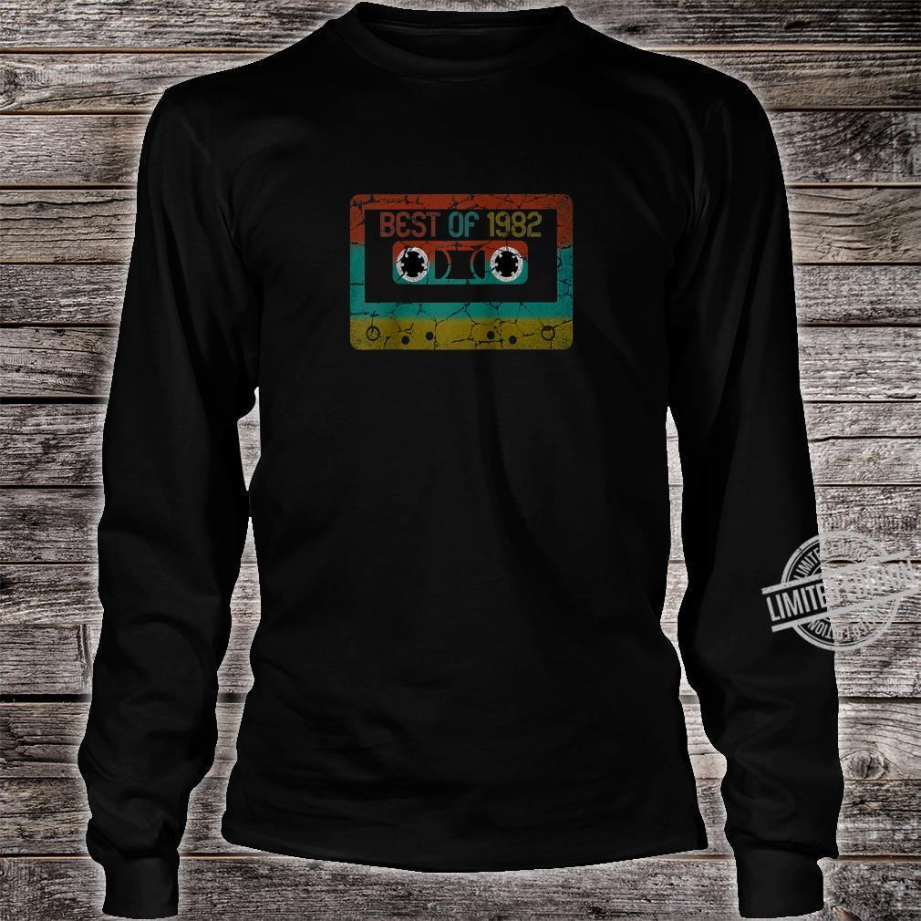 Best of 1982 Vintage Birthday Shirt long sleeved