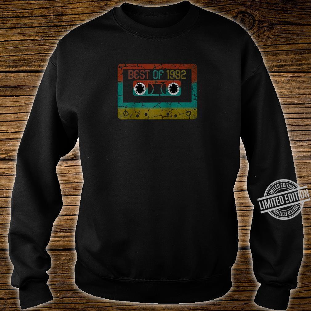 Best of 1982 Vintage Birthday Shirt sweater