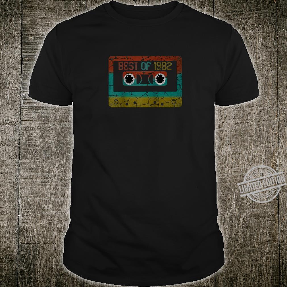 Best of 1982 Vintage Birthday Shirt