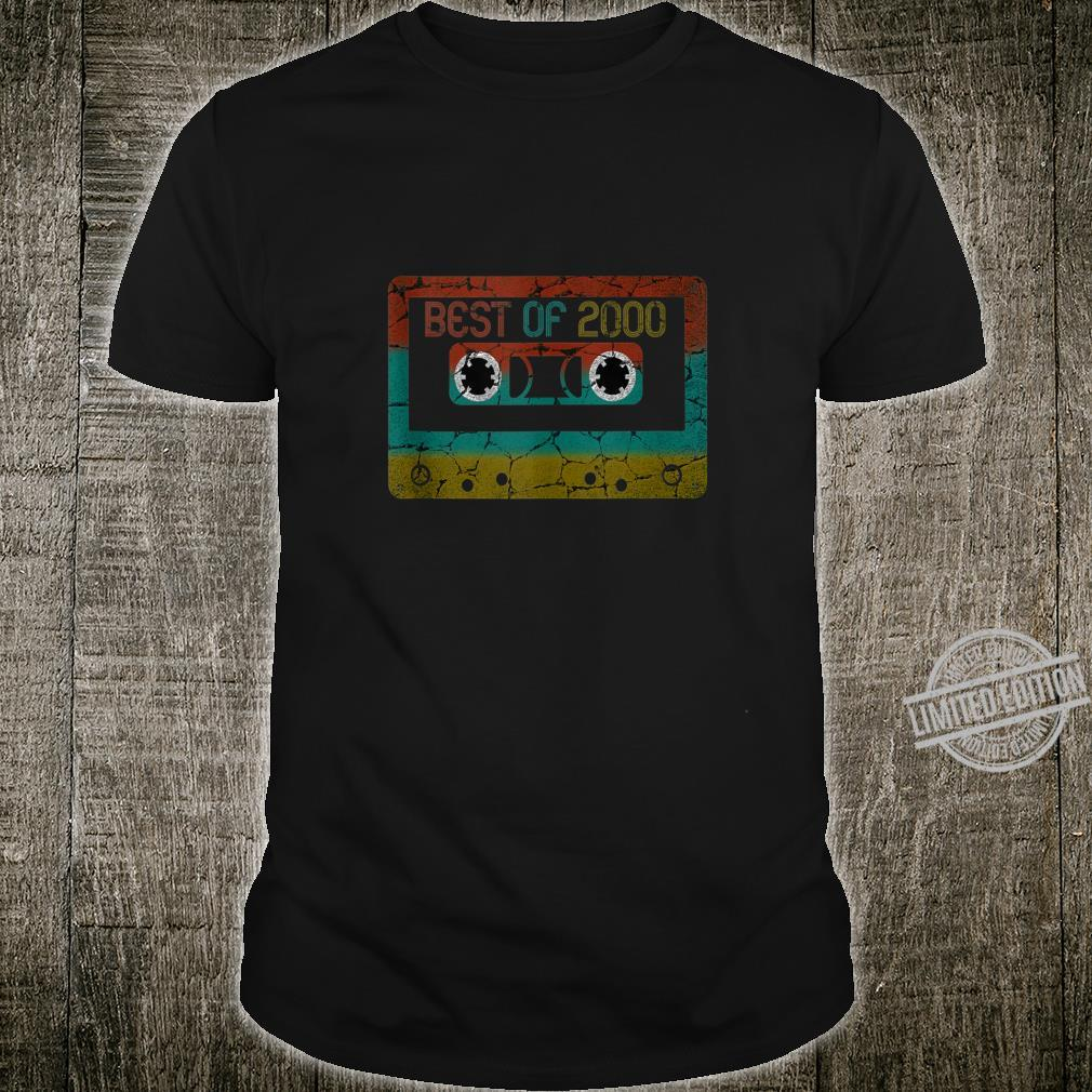 Best of 2000 Vintage Birthday Shirt