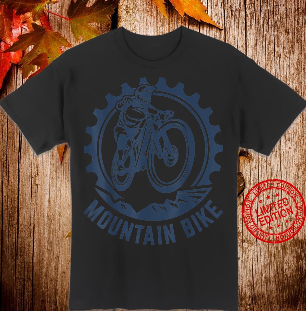Bicycle ride cycling racing bike MTB cyclist heart Shirt