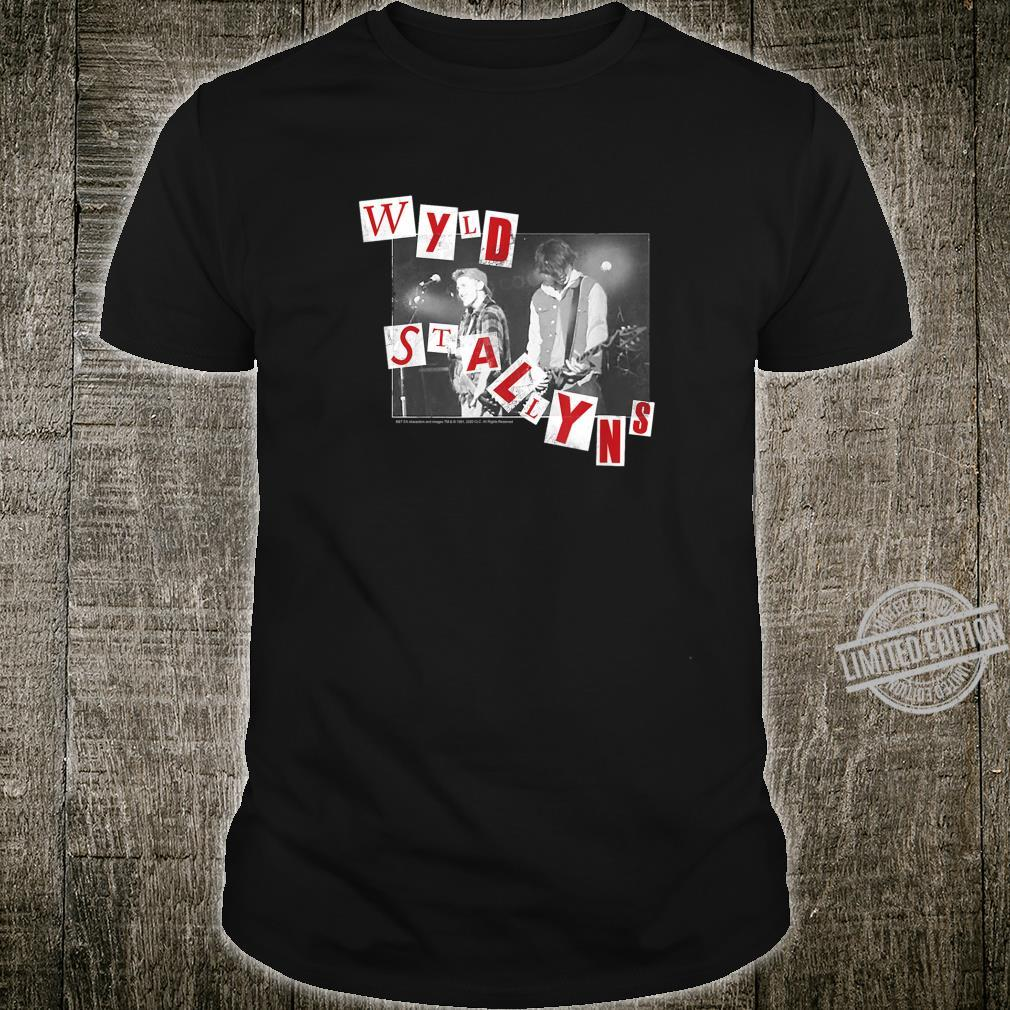 Bill and Ted's Bogus Journey Grunge Wyld Stallyns Shirt