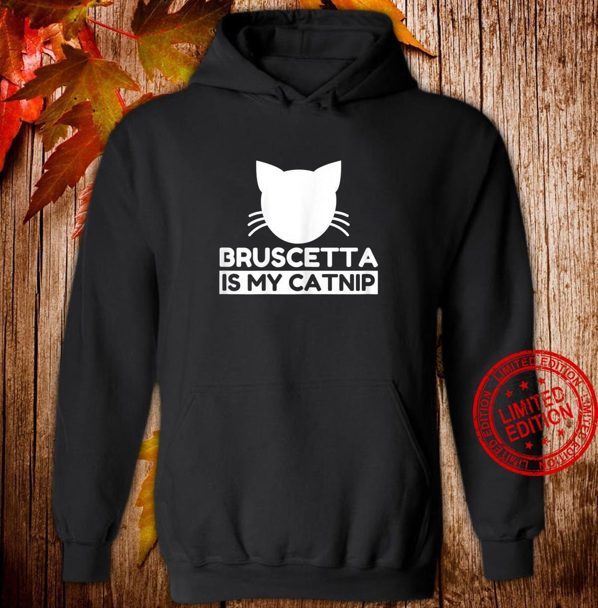 Bruscetta Cute Cat Shirt hoodie