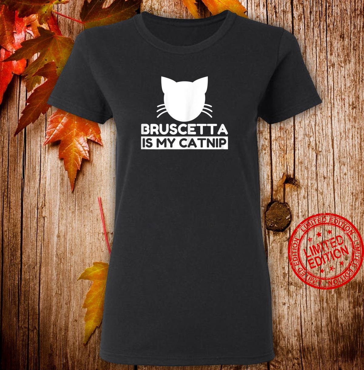 Bruscetta Cute Cat Shirt ladies tee