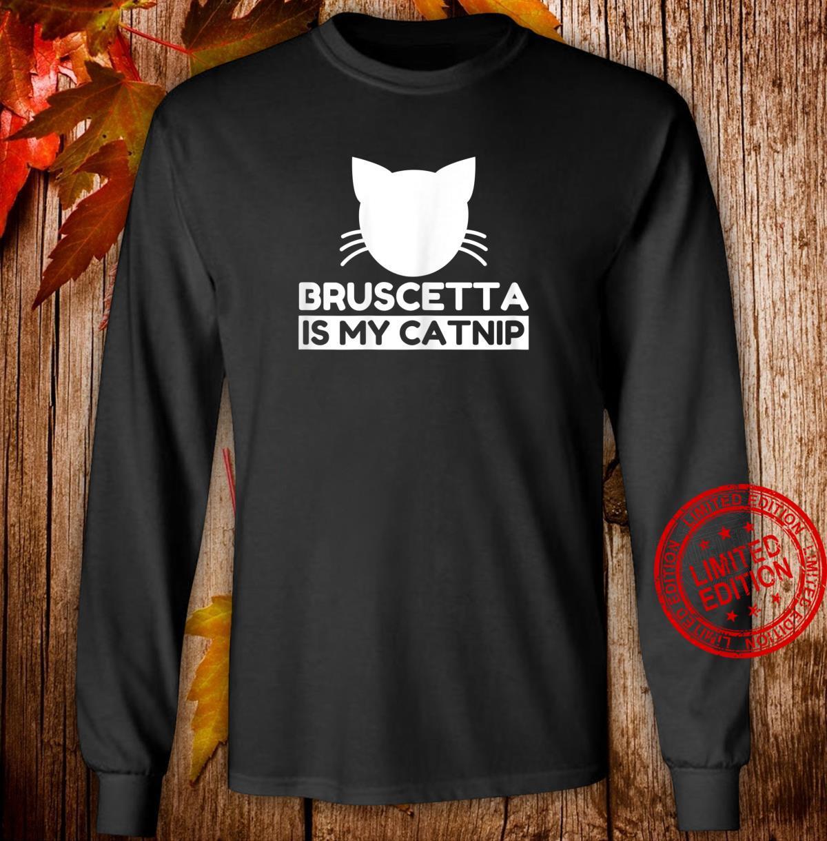 Bruscetta Cute Cat Shirt long sleeved
