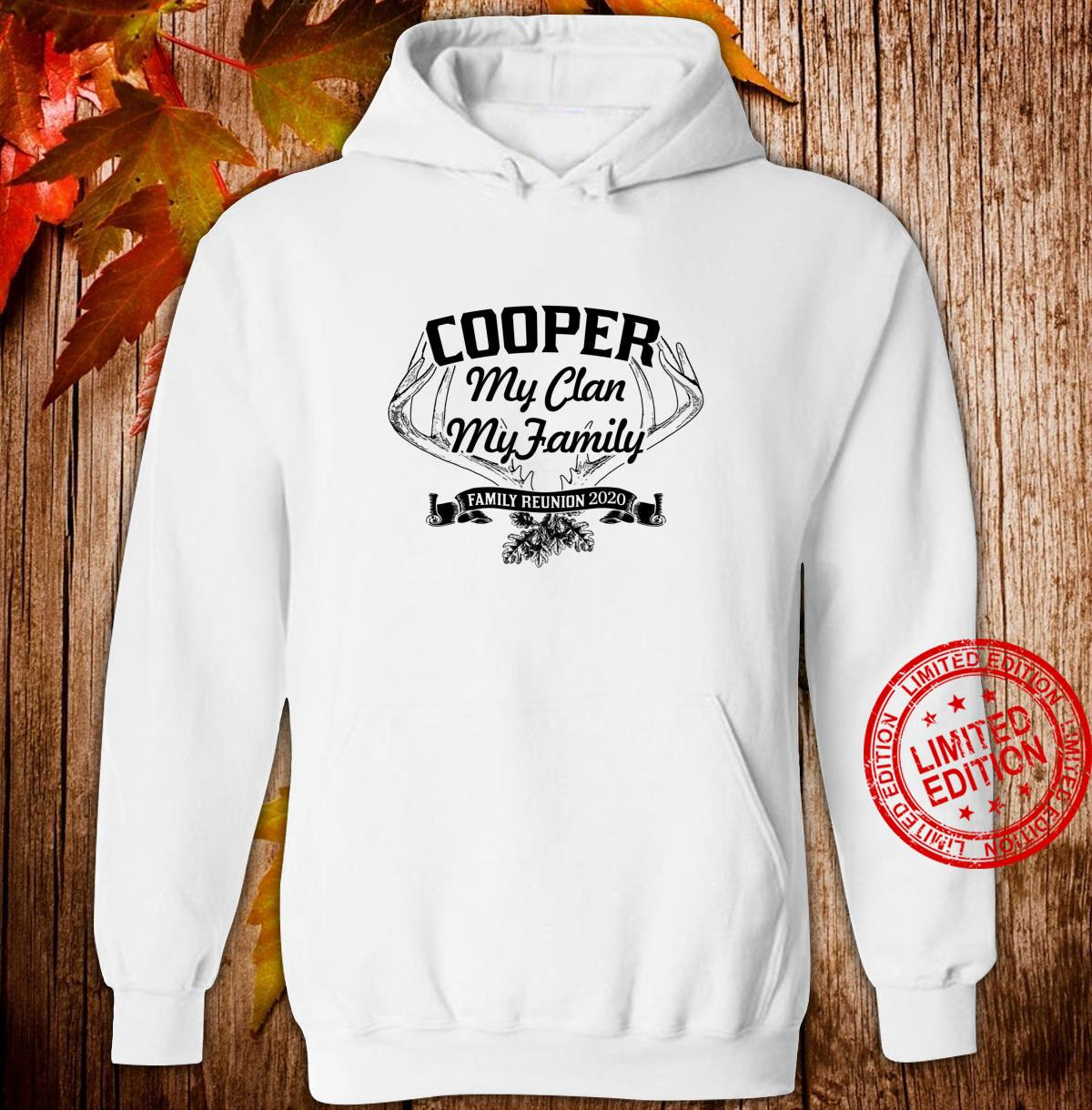 COOPER Family Reunion 2020 Clan Ancestry Tree Personalized Shirt hoodie