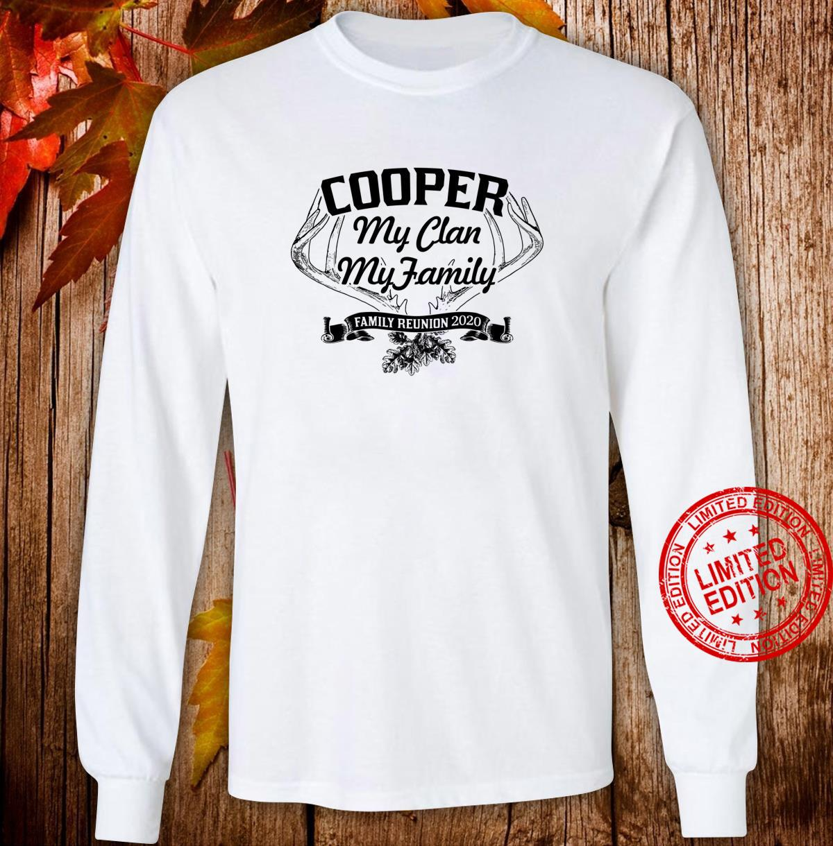 COOPER Family Reunion 2020 Clan Ancestry Tree Personalized Shirt long sleeved