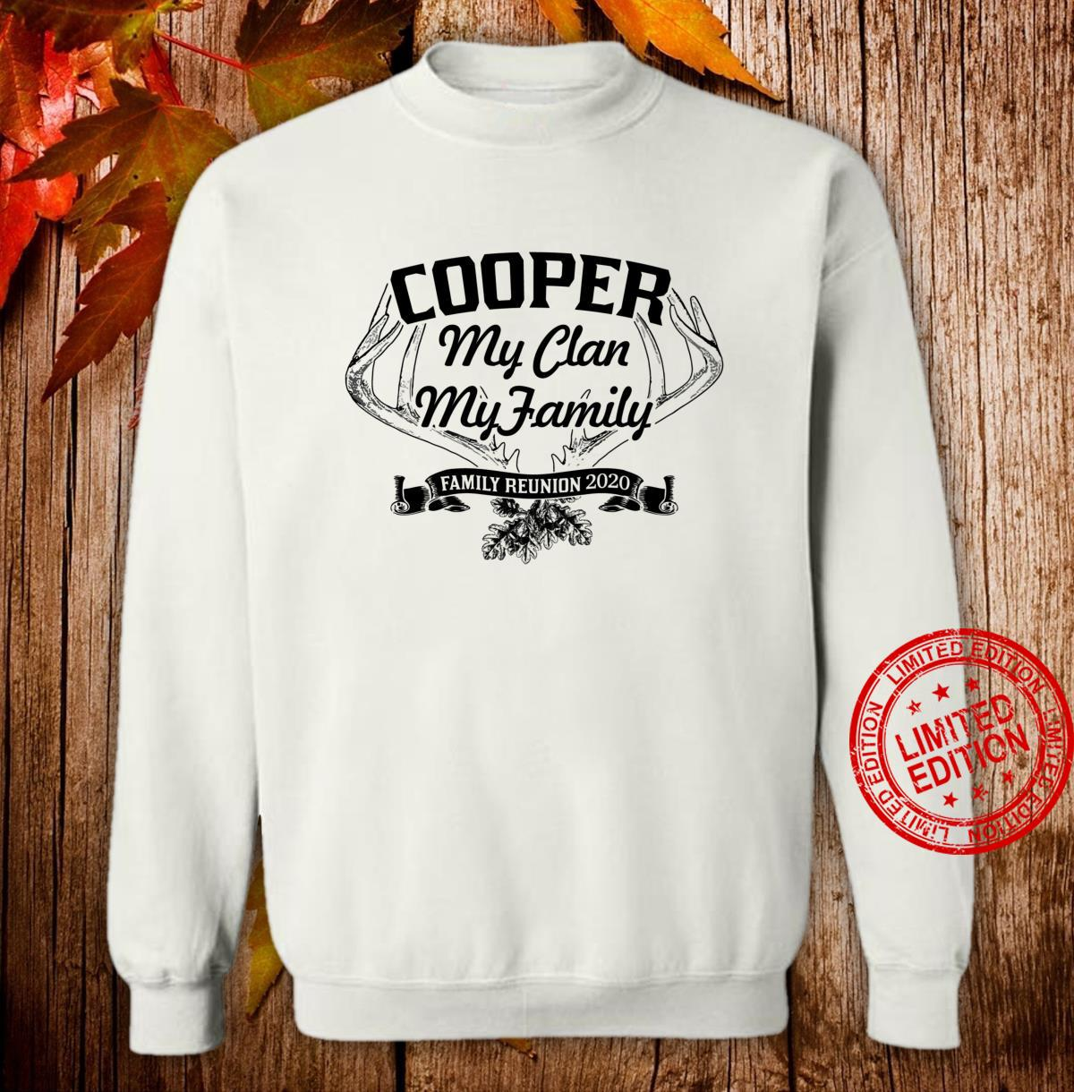COOPER Family Reunion 2020 Clan Ancestry Tree Personalized Shirt sweater