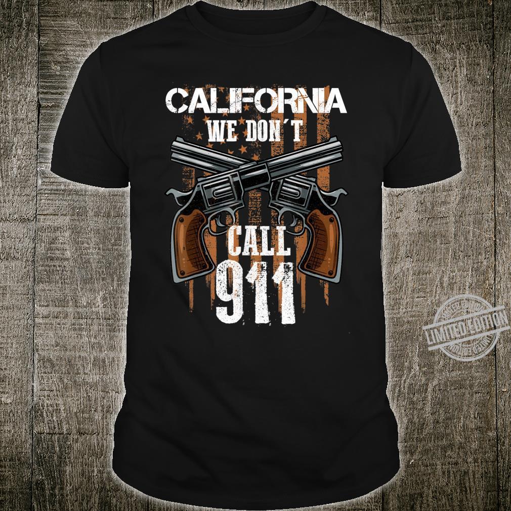 California Guns California Gun Enthusiast Shirt