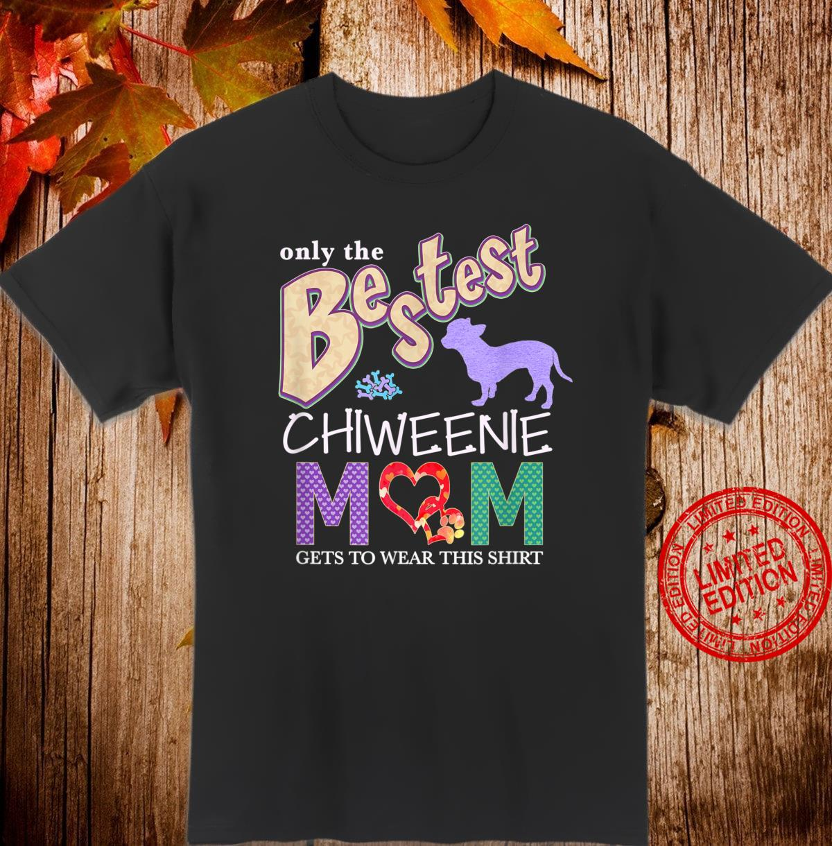 Chiweenie Shirt Design for Chiweenie Dogs Shirt