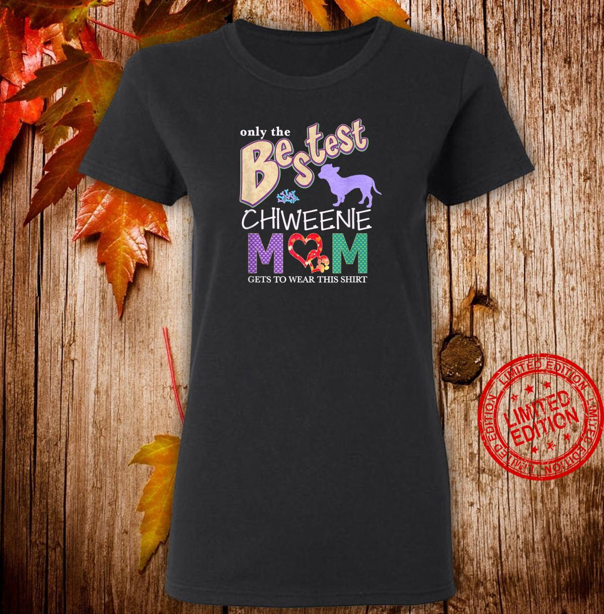 Chiweenie Shirt Design for Chiweenie Dogs Shirt ladies tee
