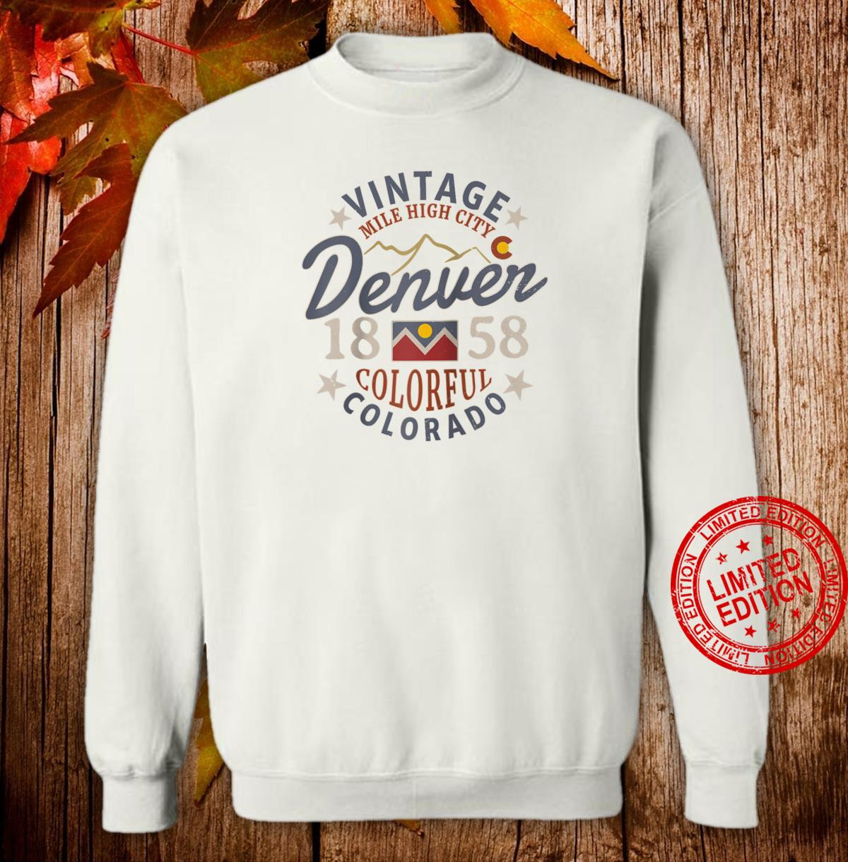 Colorful Colorado Denver Mile High City Souvenir Shirt sweater