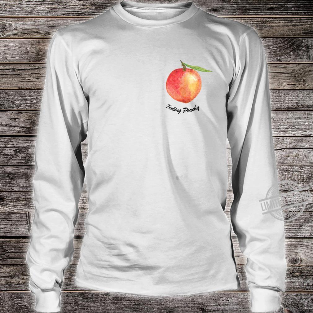 Cute Feeling Peachy Peach Shirt long sleeved
