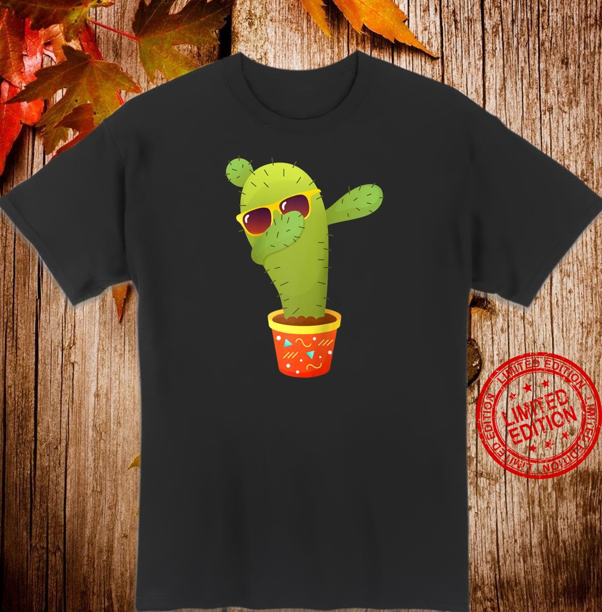 Dancing Dabbing Cactus design Shirt