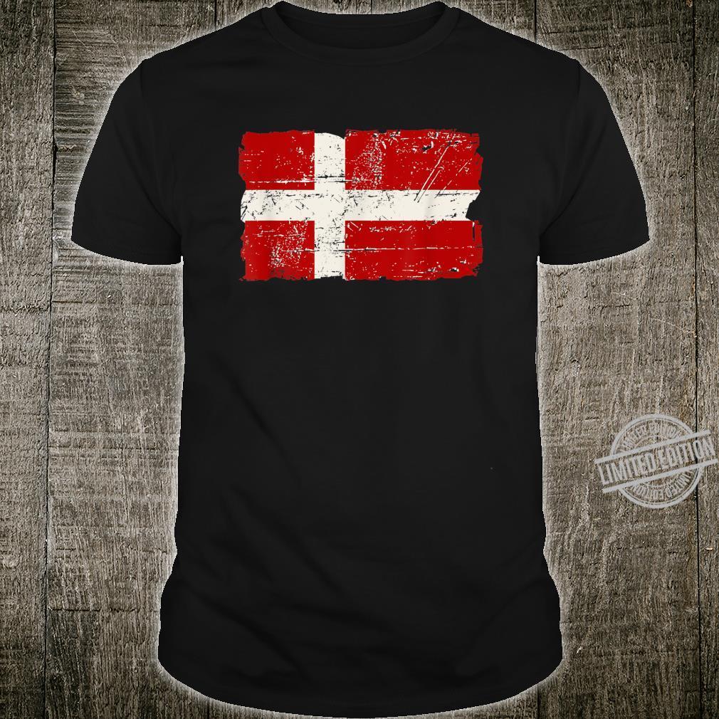 Denmark Danish Flag Shirt Dannebrog Shirt
