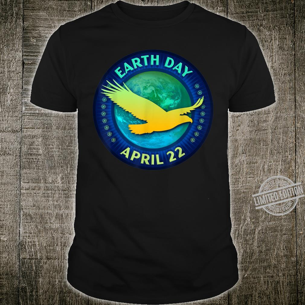 Eagle and Hawks Earth Day 50th Anniversary Shirt